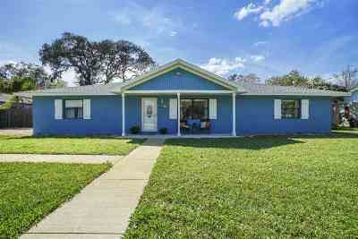 St Augustine Beach FL Single Family Home For Sale: $349,000