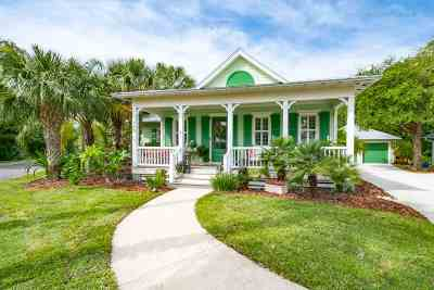 St Augustine Beach Single Family Home For Sale: 945 Deer Hammock Circle