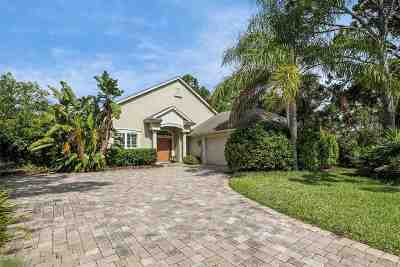 St Augustine Beach Single Family Home Contingent: 237 Marshside Dr