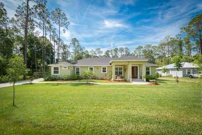 St Augustine Single Family Home Conting_accpt Backups: 255 Cypress Dr