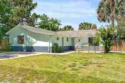 Single Family Home For Sale: 308 Flagler Blvd