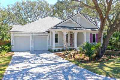 St Augustine Beach Single Family Home For Sale: 522 Ridgeway Rd.
