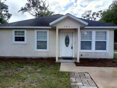 St Augustine Single Family Home For Sale: W 785 King St