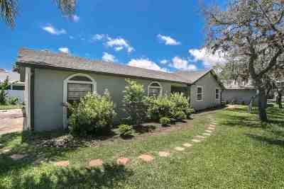 St Augustine Beach Single Family Home Contingent: 371 Trade Wind Lane