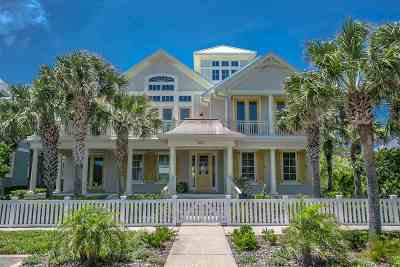 St Augustine Beach Single Family Home For Sale: 637 Ocean Palm Way