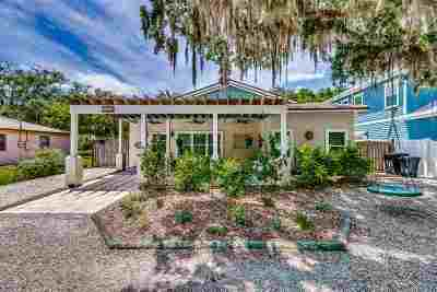St Augustine Single Family Home For Sale: 1733 Asturias