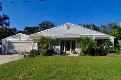 St Augustine Beach Single Family Home For Sale: 401 E St
