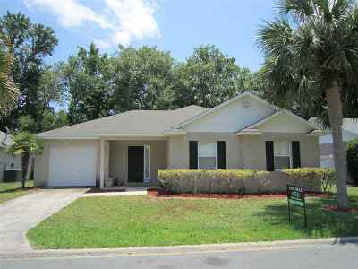 St Augustine Single Family Home For Sale: 617 Intracoastal Circle