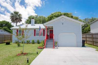 St Augustine Single Family Home For Sale: S 25 Comares Ave.