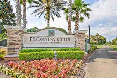 St Augustine Condo For Sale: 540 Florida Club Blvd Unit 110