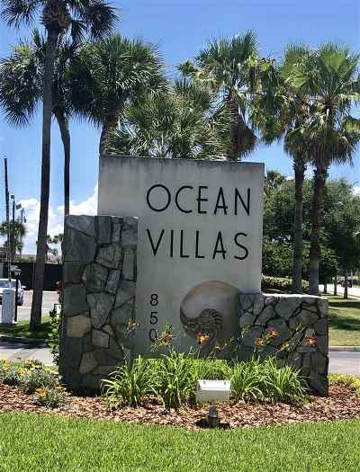 St Augustine Beach Condo For Sale: 850 A1a Beach Blvd #41