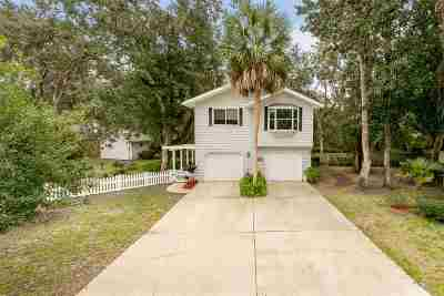 St Augustine Single Family Home For Sale: 206 Azalea Court