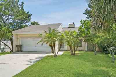 St Augustine Single Family Home For Sale: 428 Arricola Ave