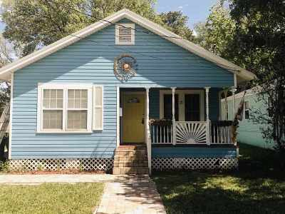 St Augustine Single Family Home For Sale: 11 Beacon St