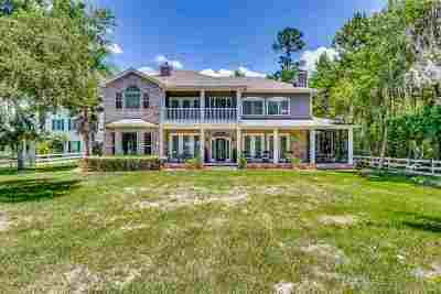 St Augustine Single Family Home For Sale: 140 River Plantation Rd N