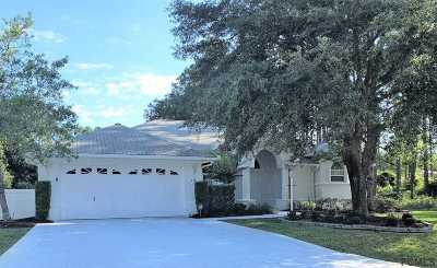 Palm Coast Single Family Home Conting_accpt Backups: 10 Essex Lane