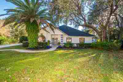 St Augustine FL Single Family Home For Sale: $519,000