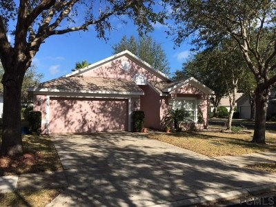 Palm Coast Single Family Home For Sale: 2 Gleneagles Place