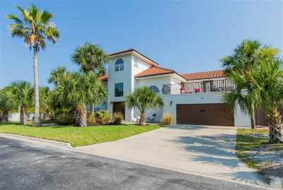 St Augustine Beach FL Single Family Home For Sale: $724,900