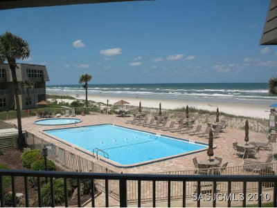 St Augustine Condo For Sale: 7900 A1a South (Coquina B-201) #B-201