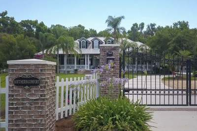 St Augustine Single Family Home For Sale: N 10650 County Road 13