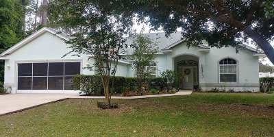 Palm Coast Single Family Home For Sale: 96 Parkview