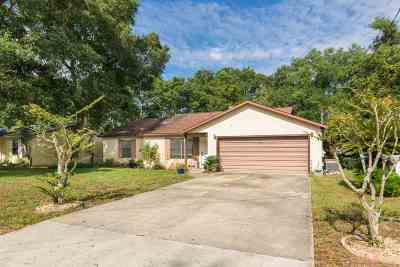 St Augustine Single Family Home For Sale: 3249 Calle Barcelona