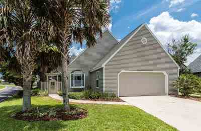 Vilano Beach, Villages Of Vilano Single Family Home For Sale: S 101 Lake Circle