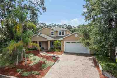 St Augustine Beach FL Single Family Home For Sale: $549,000