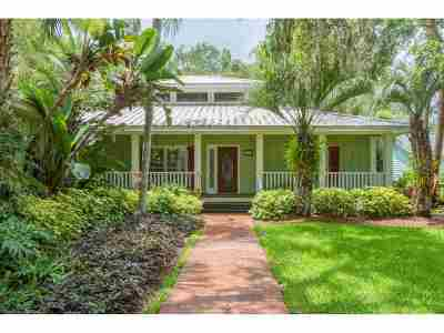 St Augustine FL Single Family Home For Sale: $484,500