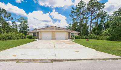 Palm Coast Multi Family Home For Sale: 14 Wood Acre Ln