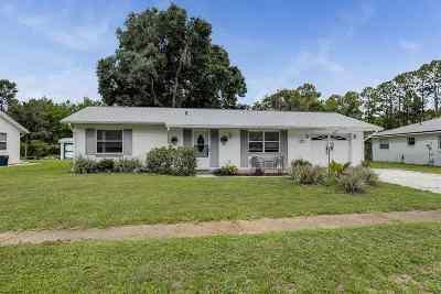 St Augustine Single Family Home For Sale: 365 Altara Dr