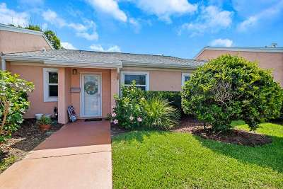 St Augustine Beach Condo For Sale: 4 Ocean Trace Rd #6