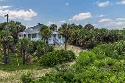 Single Family Home For Sale: 9135 Old A1a