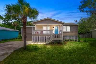 St Augustine Single Family Home For Sale: 30 Atlantic Avenue