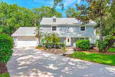 St Augustine Beach Single Family Home For Sale: N 6 Trident Pl