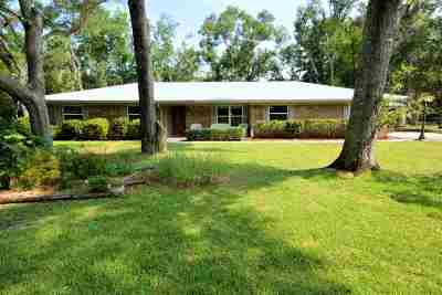 St Augustine Single Family Home Contingent: 3200 Cross Creek Place