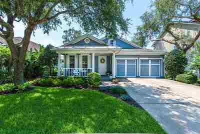 St Augustine Single Family Home For Sale: 981 Saltwater Cir
