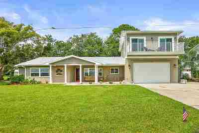 St Augustine Single Family Home Conting_accpt Backups: 918 Shore Dr