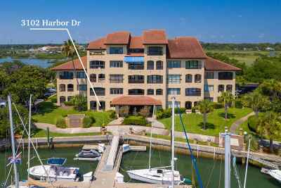 St Augustine Condo For Sale: 3102 Harbor Dr