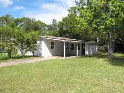 St Augustine Single Family Home For Sale: 286 Las Olas Rd