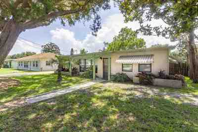 St Augustine Single Family Home For Sale: 5455 2nd St