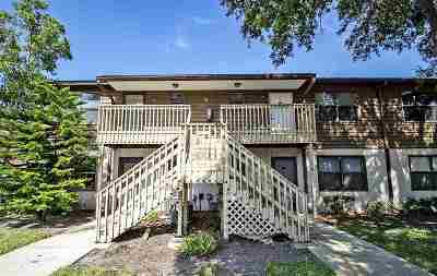 St Augustine Condo For Sale: W 700 Pope Rd #B-10