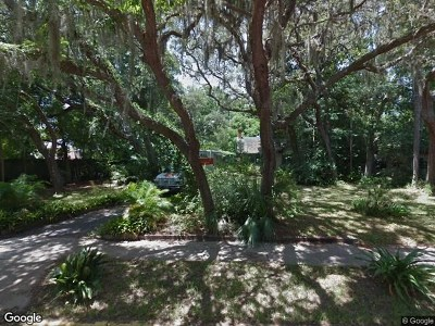 St Augustine Single Family Home For Sale: 8 Park Ave