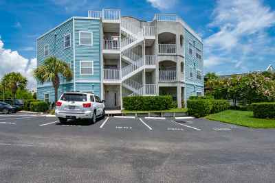 St Augustine Beach Multi Family Home For Sale: 120 Ocean Hibiscus Drive #203 & 20