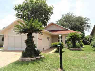 St Augustine Single Family Home For Sale: 2245 Commodores Club Blvd