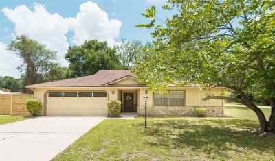 St Augustine Single Family Home For Sale: 702 Miranda Rd.