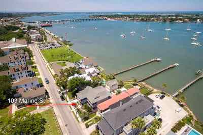 Saint Johns County Single Family Home For Sale: 103 Marine St