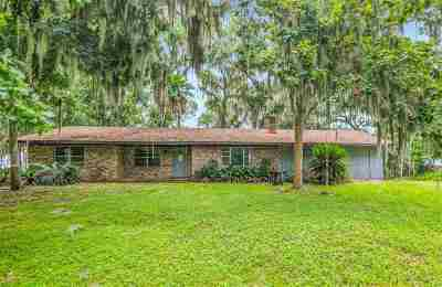St Augustine Single Family Home For Sale: 8329 Colee Cove Rd