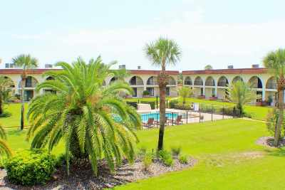 St Augustine Beach Condo For Sale: 21 Dondanville Road Unit 9 #9
